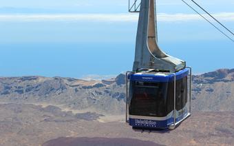 Kolejka linowa na Pico del Teide
