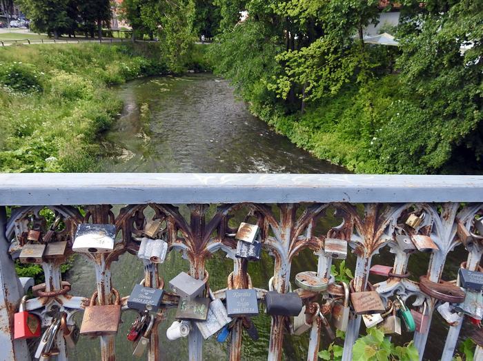 Rzeka Wilejka na Zarzeczu