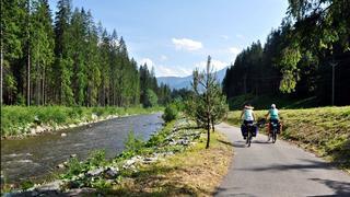 Ścieżka rowerowa nad Orawicą