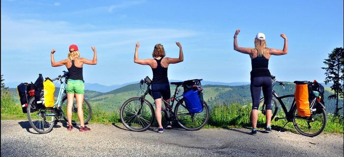 Trzy baby, trzy dni - niezapomniana rowerowa przygoda