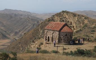 Kompleks klasztorny David Gareja na granicy Gruzji z Azerbejdżanem