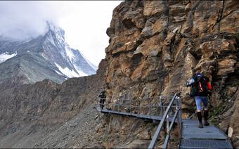 Matterhorn - w stronę szczytu