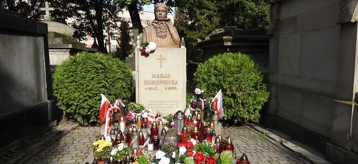 Grób Marii Konopnickiej na Łyczakowie