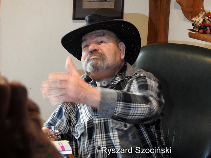 Ryszard Szociński - poeta z Cisnej