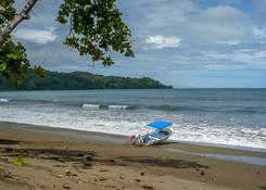 Jedna z plaż półwyspu Osa