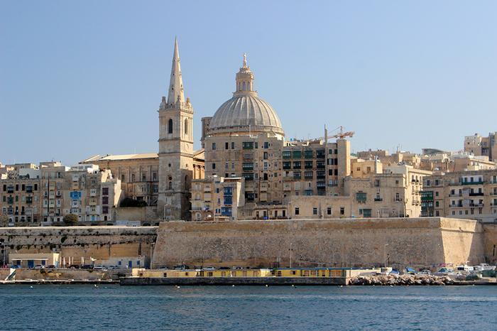 Katedra widziana od morza