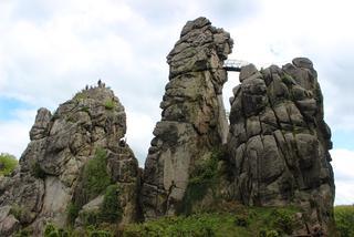 Skalna świątynia Germanów