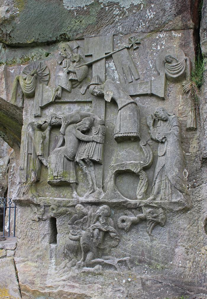 Płaskorzeźba z XI / XII wieku
