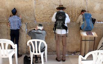 Sciana płaczu w Jerozolimie