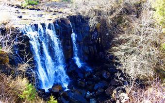 Wodospad na wyspie Mull