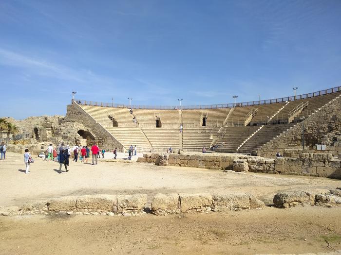 Cesarea Martima - amfiteatr