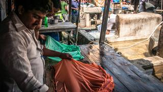 Bombaj (Indie) – Dhobi Ghat – weryfikacja plam