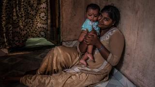 Bombaj (Indie) – Dhobi Ghat – mieszkańcy pralni