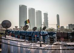 Bombaj (Indie) – Dhobi Ghat – z widokiem na przyszłość