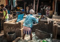 Bombaj (Indie) – Dhobi Ghat – Pan Pracz