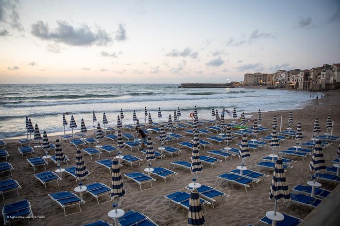 Plaża w Cefalu