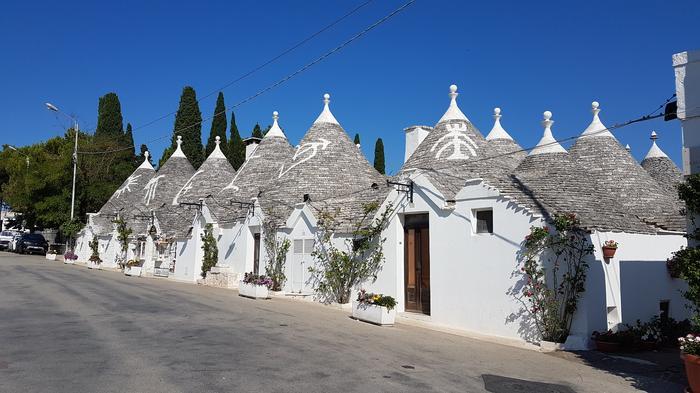Ulica w Alberobello