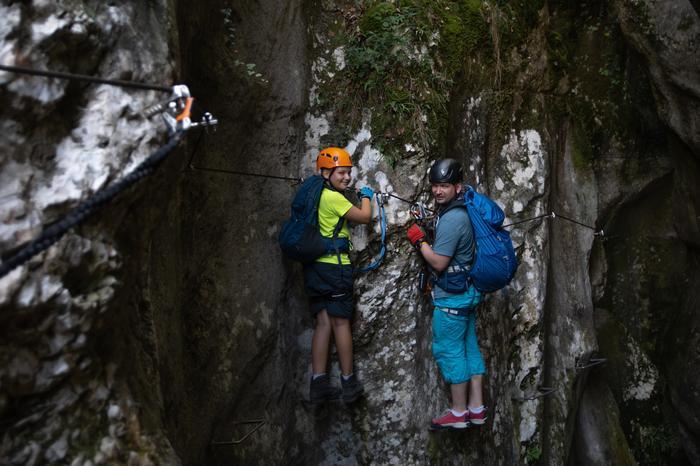 Kanion na ferracie Rio Sallagoni