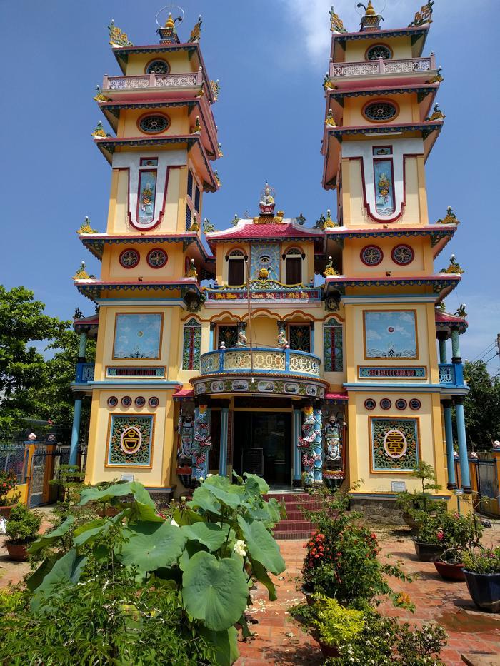 Cao Dai kosciół w Wietnamie