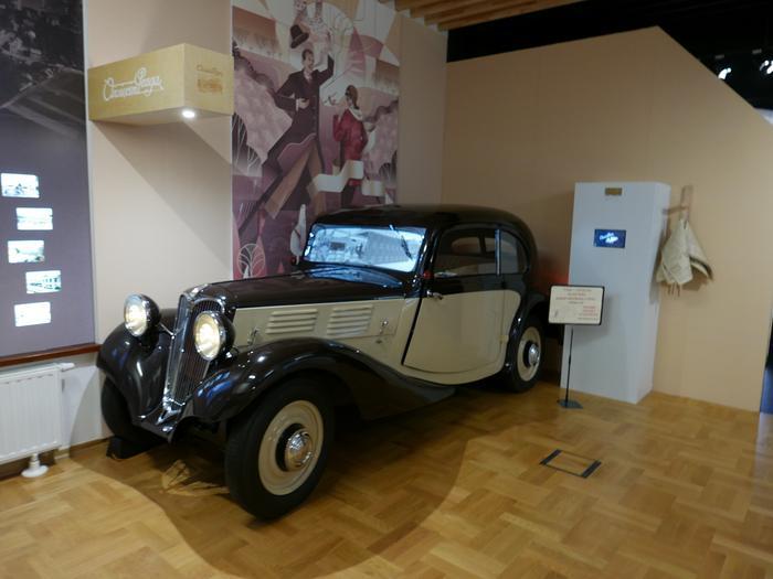 Samochód Praga produkowany w Oświęcimiu