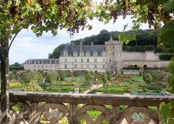 Jesienne Villandry (Francja)