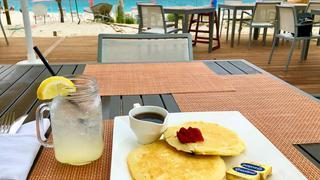 Lunch z widokiem na ocean