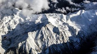 Alpy, zdjęcie z samolotu
