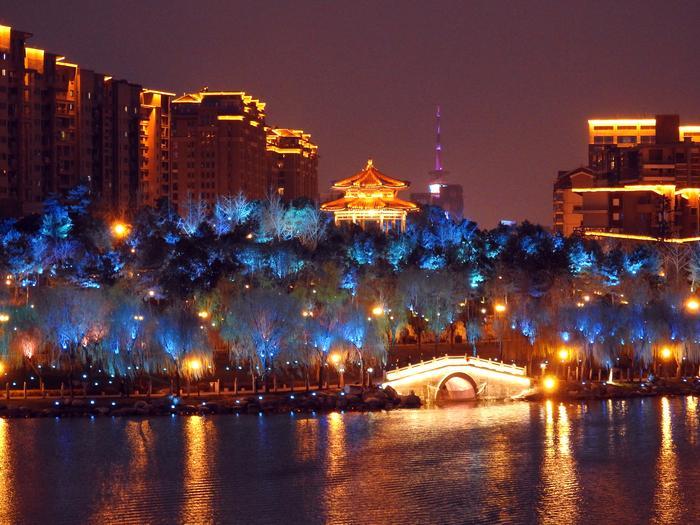 Xi'an nocą