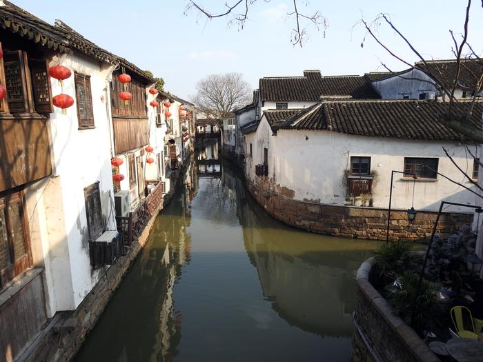 Kanały w Suzhou
