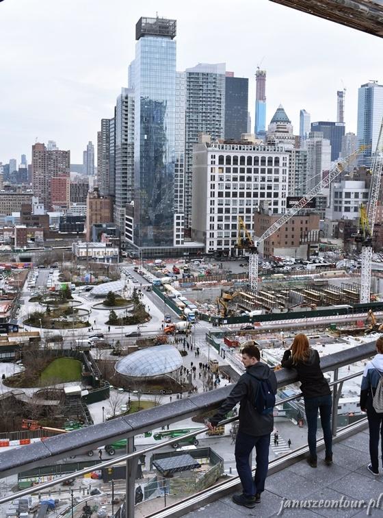 Widok z The Vessel - NYC