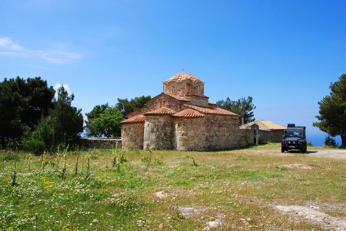 Monastyr w Platsa
