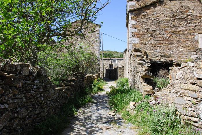 Opuszczona wioska Moutanistika