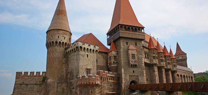 Castelul Corvinilor (Zamek Korwina) w Hunedoarze