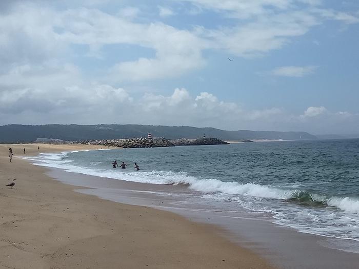 Plaża w Nazare.