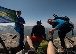 Big Ałmaty Peak - 3682 m n.p.m.