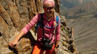 Big Ałmaty Peak - finalne podejście