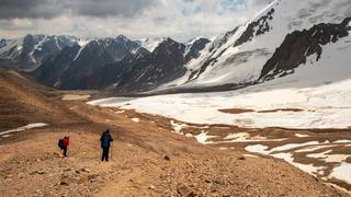 Tien Shan Północny - podejście na Przełęcz Turystów