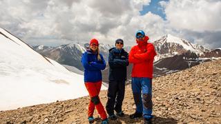 Tien Shan Północny - zdobycie Przełęczy Turystów 3960 m n.p.m.