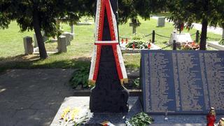 Krzyż Katyński na Cmentarzu Garnizonowym
