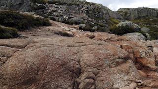 Fragment trasy na Kjerag