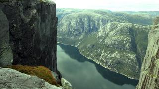 Kjerag - widok na Lysefjord