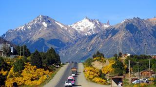 Droga nr 40 - wylot z Bariloche na Esquel