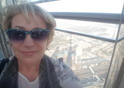 Obowiązkowe selfie z widokiem na Dubaj