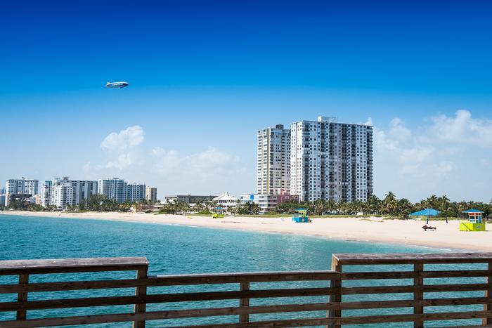 Widok na plaze