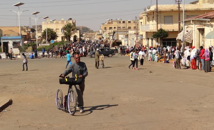 Stolica kraju przywitała mnie leniwą włoską atmosferą (Róg Afryki, Erytrea, Asmara, styczeń 2019)