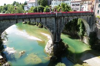 Cividale del Friuli - miejsce, gdzie diabłu powiedziano dobranoc.