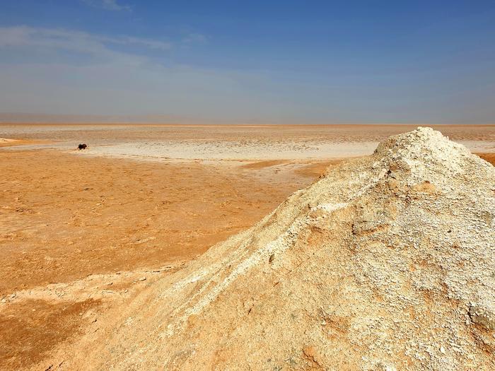 Jezioro Chott el Jerid