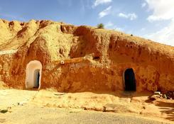 Domy troglodytów w Matmacie