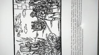 często ofiary były wieszane lub trute przed spaleniem na zbiorowym stosie