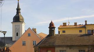 centralna ulica miasteczka
